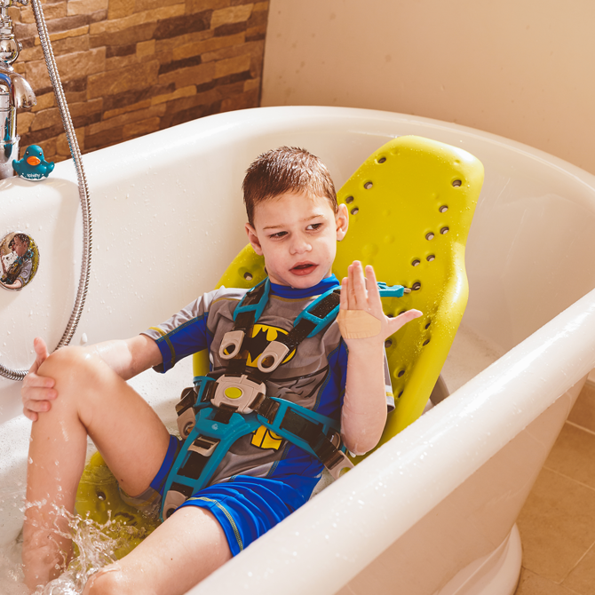 Splashy Portable Bath Seat | Firefly Special Needs Products