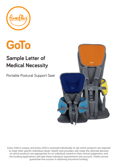 GoTo Seat Letter of Medical Necessity