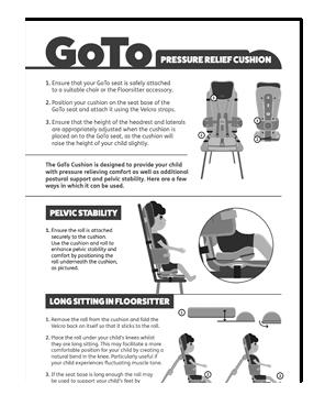 GoTo Pressure-Relief Cushion