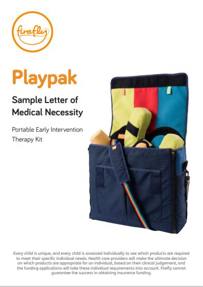 Playpak Letter of Medical Necessity