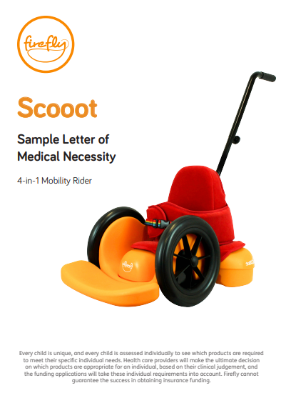 Scooot Letter of Medical Necessity