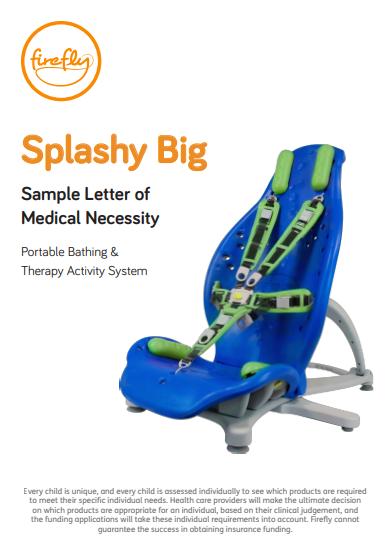 Splashy Big Letter of Medical Necessity
