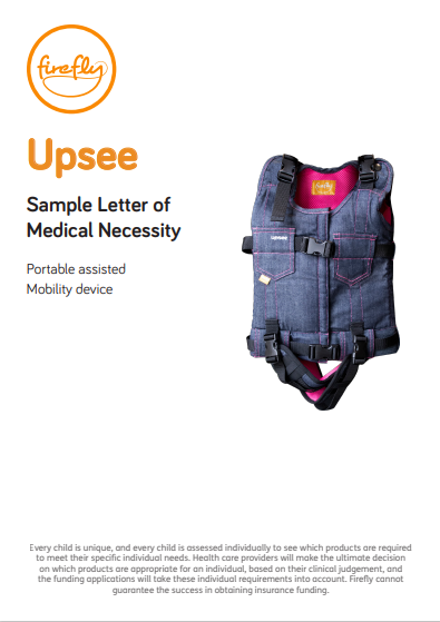 Upsee Letter of Medical Necessity