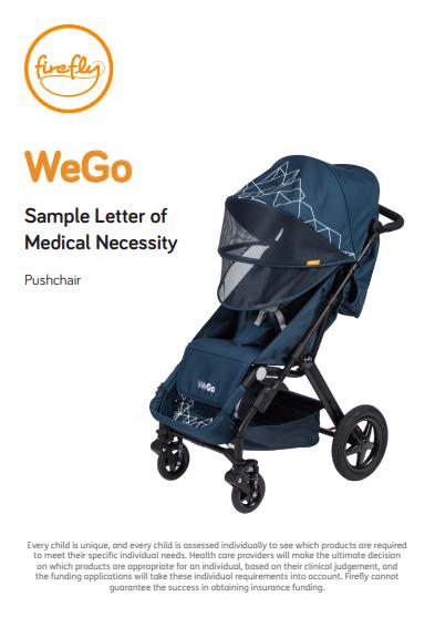 WeGo Letter of Medical Necessity