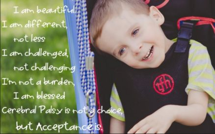 Don't Count Me Out: Cerebral Palsy Awareness
