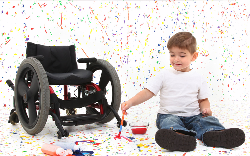First Wheelchair = Independence For My Child With Special Needs