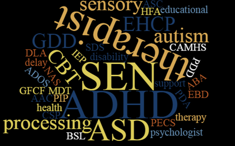 What Does That Mean? A List of Abbreviations for Special Needs Families