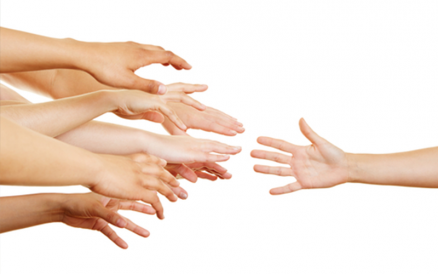 Please Take My Hand: (Four Steps to Asking for Help on the Special Needs Journey)
