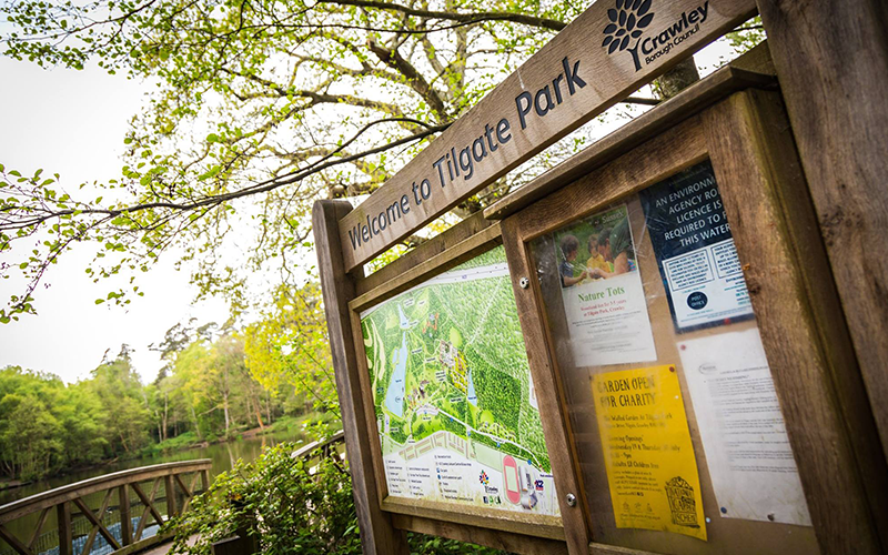 "Tilgate Park provides, ""Space to Change""."
