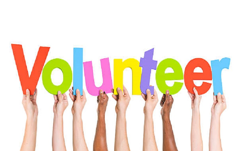 Volunteers: Making the World a Better Place for Us All.