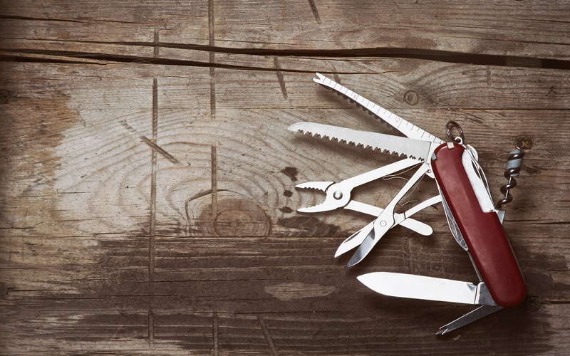 The Human Swiss Army Knife