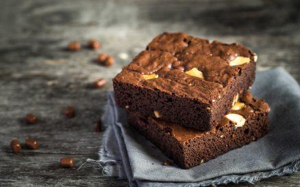Skinny Peanut Butter Brownies