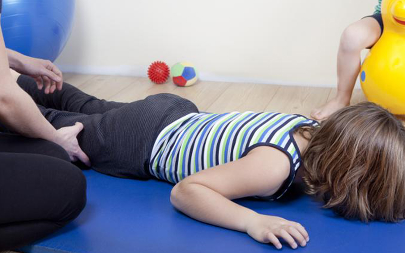 A Quick and Easy Home Exercise for a Child with Cerebral Palsy