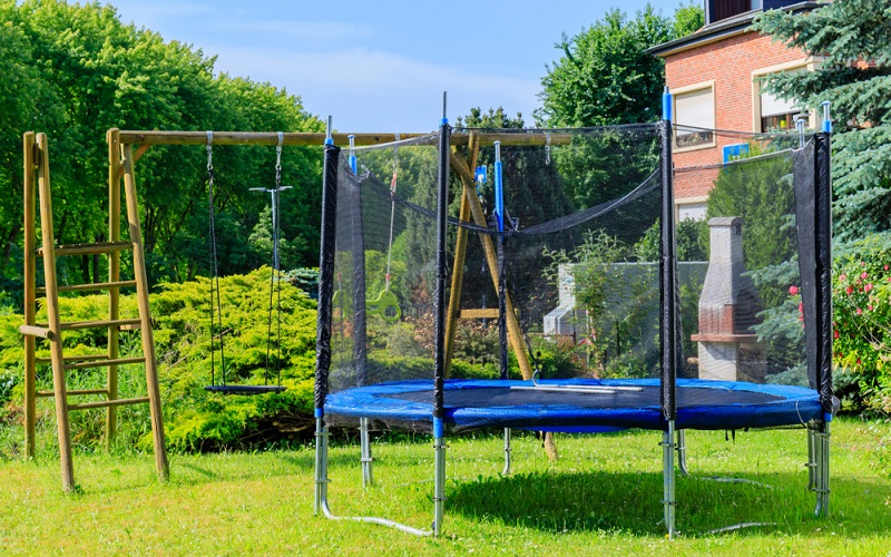 A Trampoline and So Much More..
