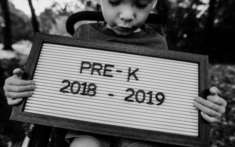 Oliver Does Pre-K