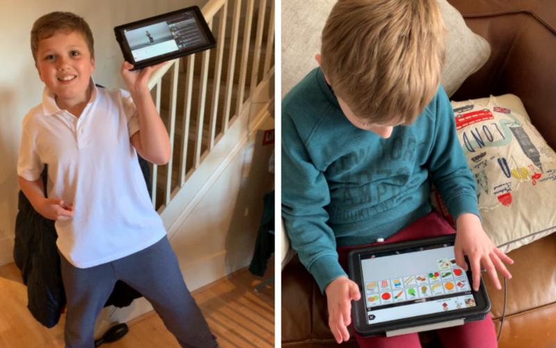 How Technology Helps My Boys