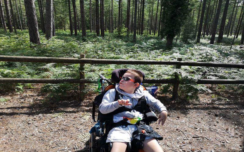 *Think wheelchair*