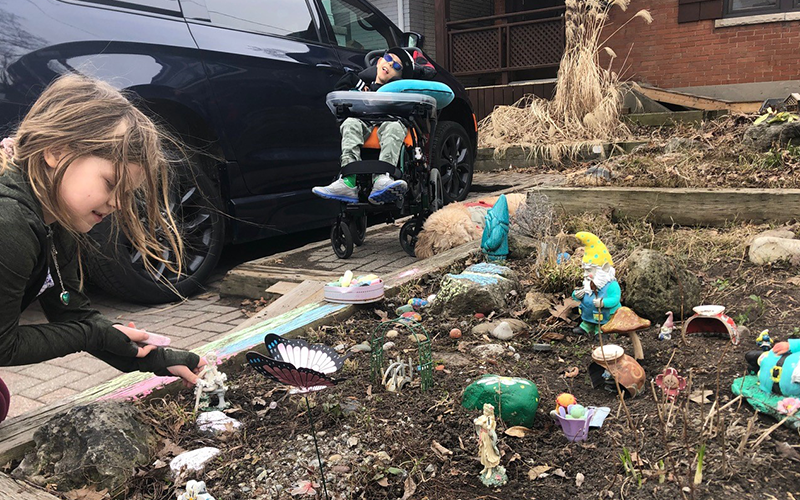Fairy Gardens and Family Self-Isolation
