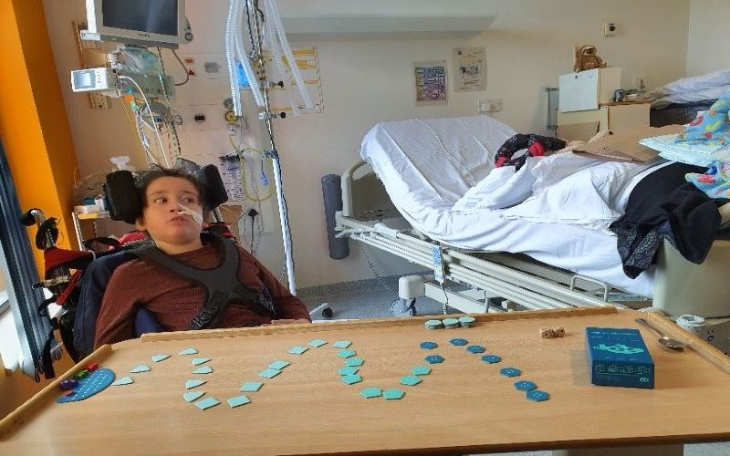 Bored in hospital? Bring out the board games