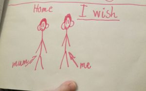 A sibling's simple Christmas wish