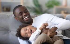 The way that you play with your child can impact your child's development