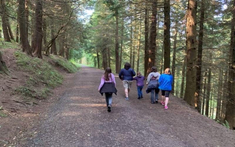 Special needs parenting: Family walks